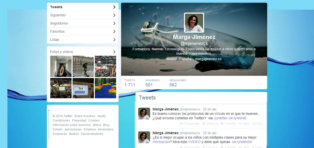 Social Media Marga Jiménez